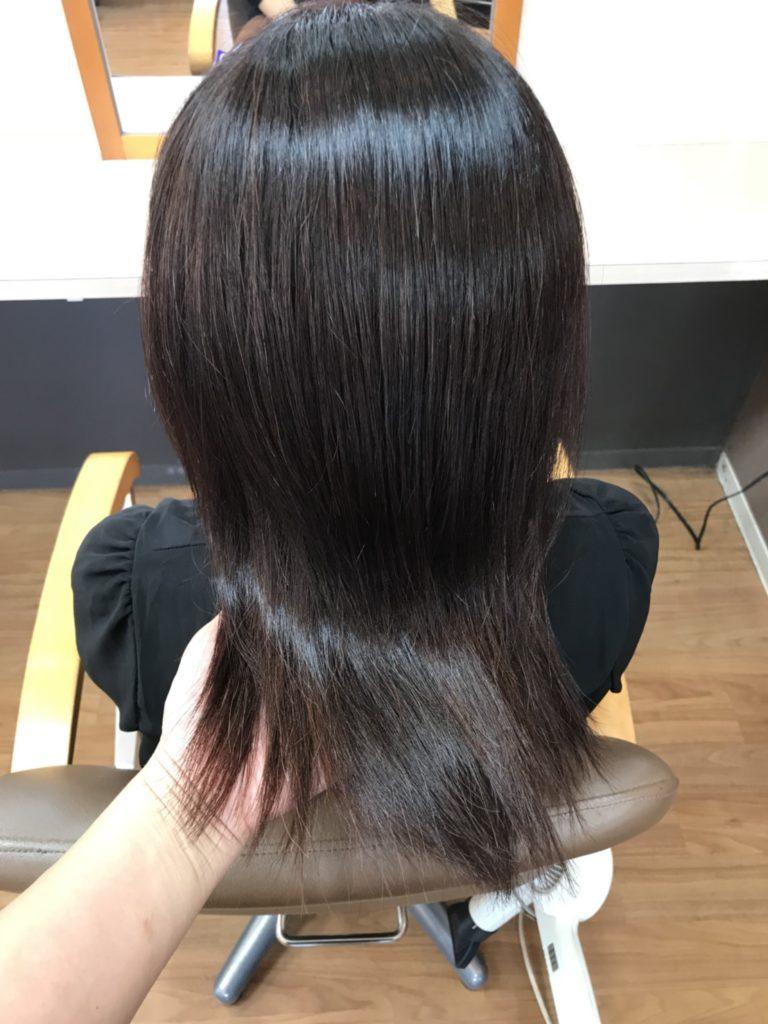 キラ髪:髪質改善が同時にできる「縮毛矯正&ストレート」毛先までツヤツヤ☆