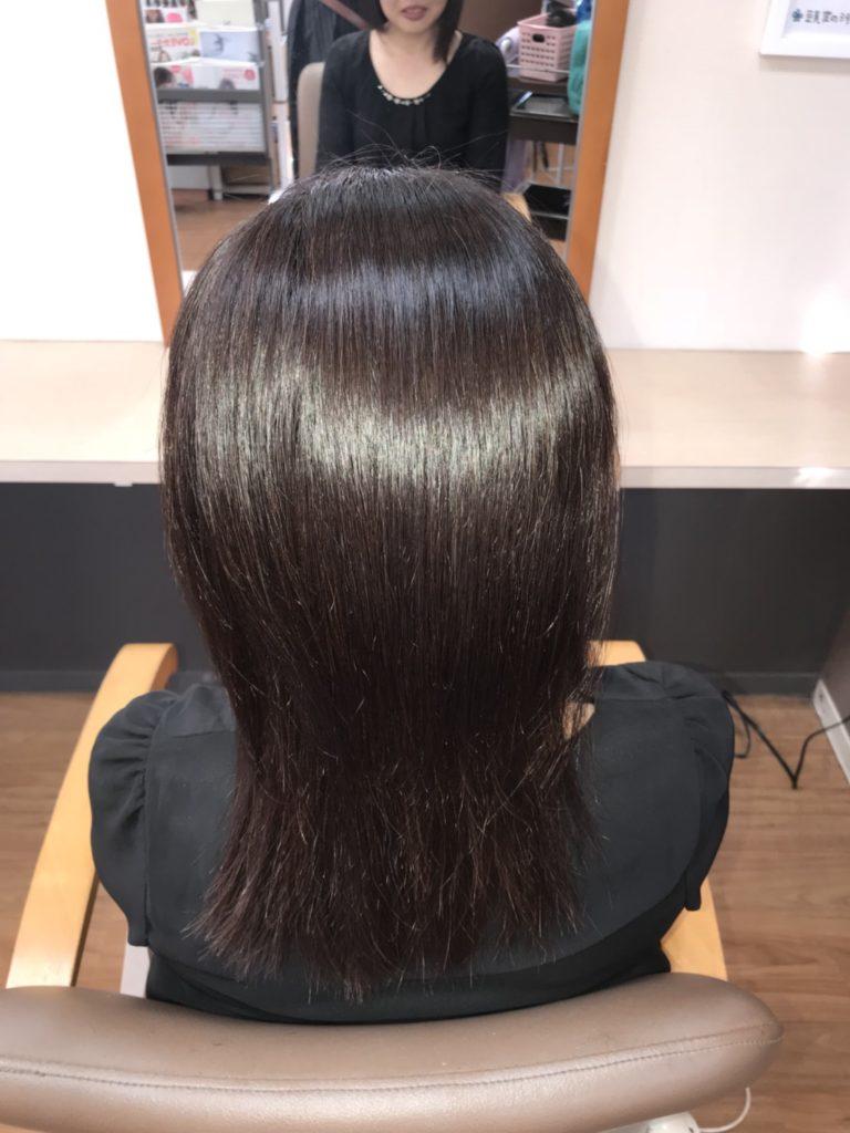 キラ髪:髪質改善が同時にできる「縮毛矯正&ストレート」サラサラ★ツヤツヤ☆