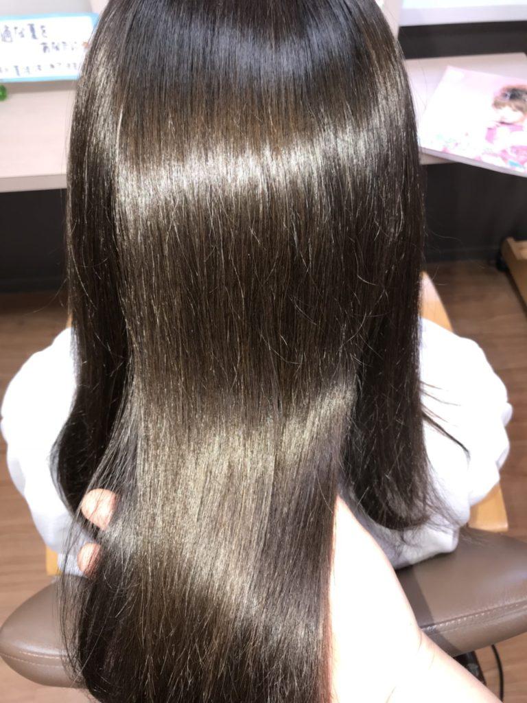 キラ髪:クセをしっかり伸ばしながら超自然なストレートに・・・