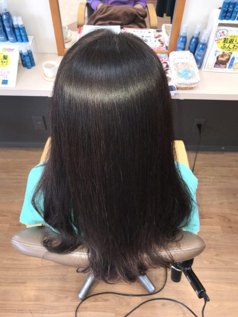 キラ髪:髪質改善が同時にできる「縮毛矯正&ストレート」