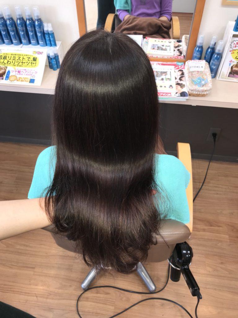 キラ髪:クセをしっかり伸ばしながら超自然なストレートに・・・&ダメージを補修しながら輝く髪に・・・