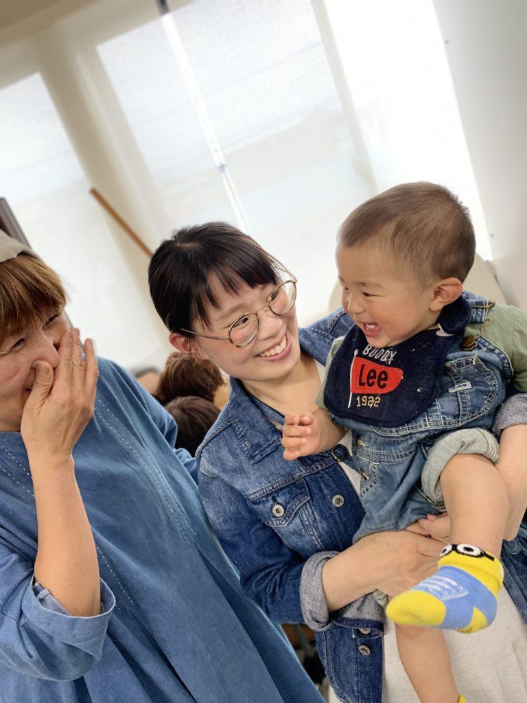 育休中の芹澤さんが遊びに来てくれました^_^