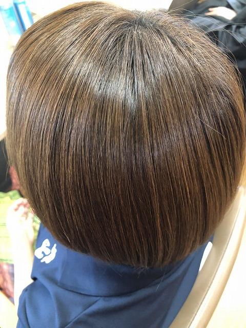 キラ髪:とってもお手入れのしやすい髪の状態になり、毎日楽チンになりました(*´ω`)パーマ・カラーが一緒にでき、  ツヤスベ感が出るのでオススメです(´▽`)