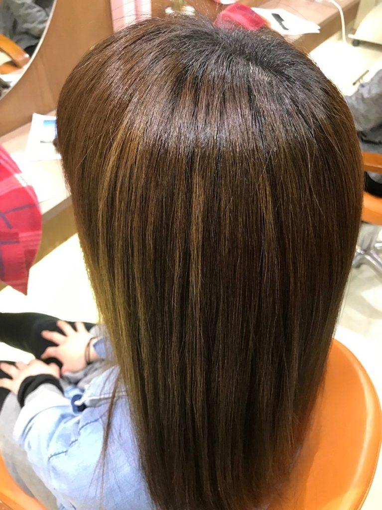 キラ髪:キラ髪のすごいトコロ★その3★超自然な仕上がり!まるで生まれた時からストレートヘアの様に、輝髪(きらがみ)を体感された方は、必ず「自然でやわらかい!」と感動されます。