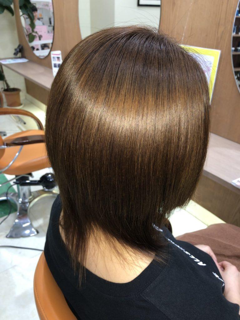 沼津市の髪質改善美容室