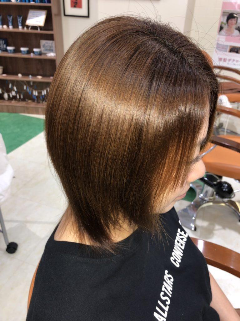 キラ髪☆髪質改善のキラ髪✨は、「最近少し髪が細くなっきた」「うねりが気になる」そんなあなたにオススメです❗️❗️