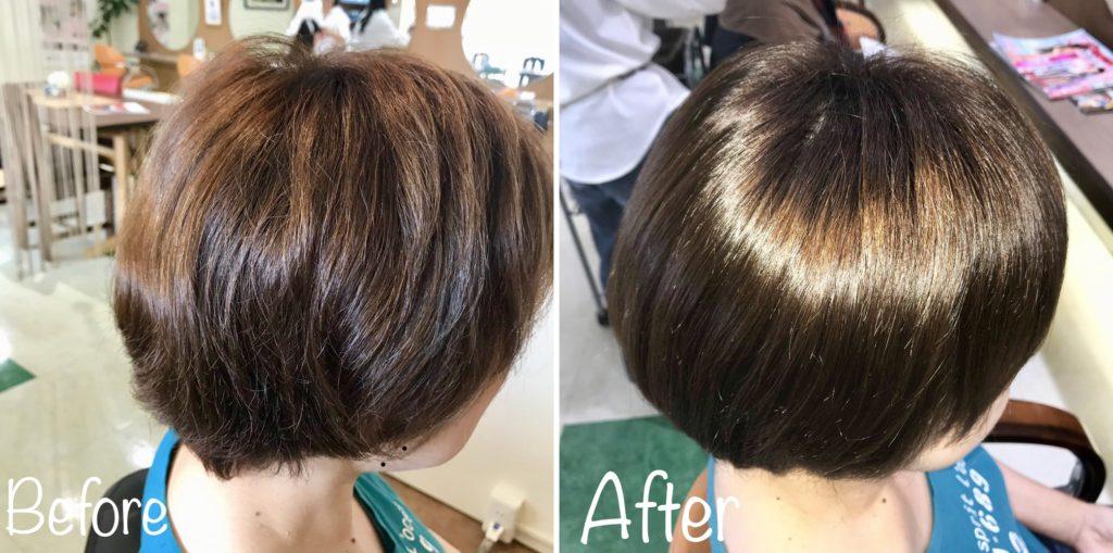 """キラ髪:リピーター続出! 髪質改善キラ髪✨髪の内部から痛みを""""なおし・元気に""""‼️"""