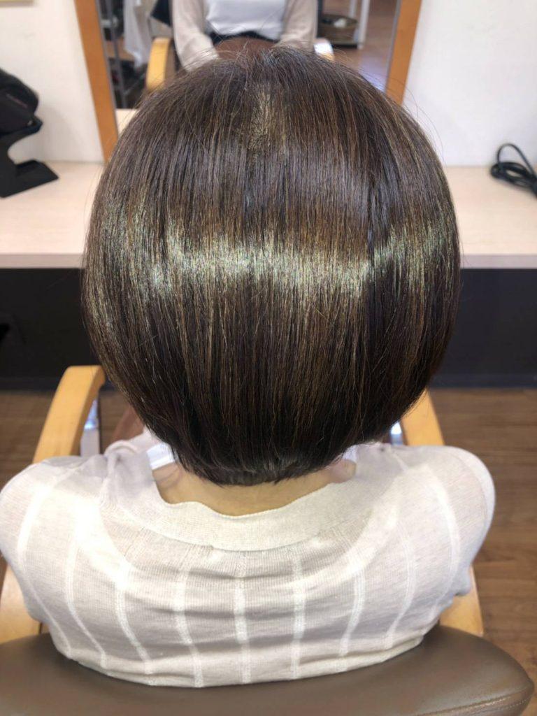 夏の紫外線ダメージには髪質改善 キラ髪✨