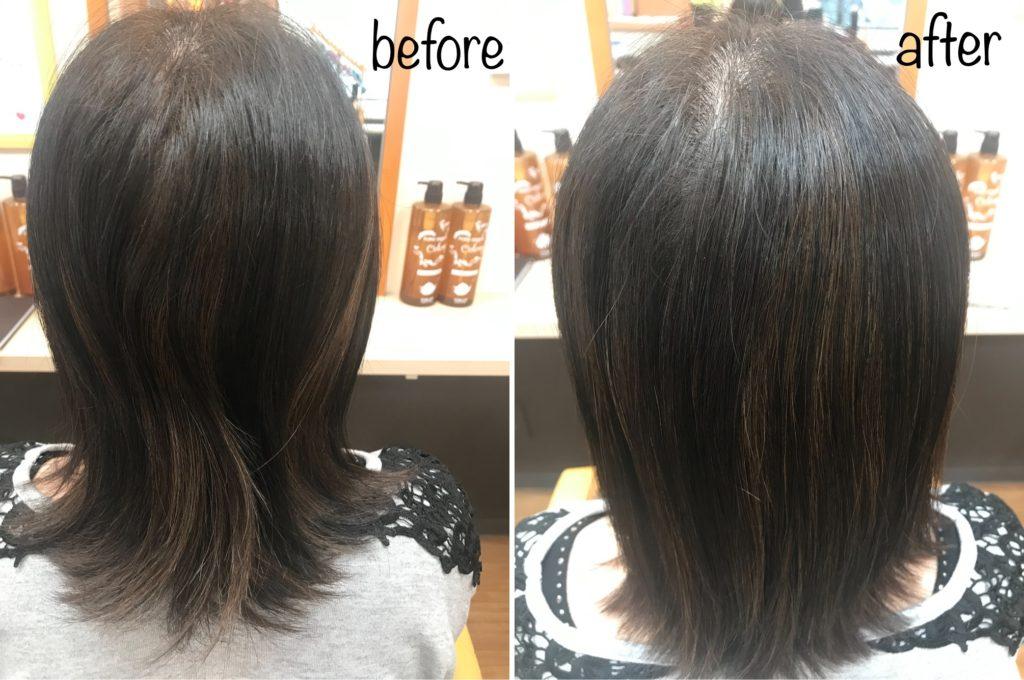 リピーター続出の髪質改善キラ髪✨