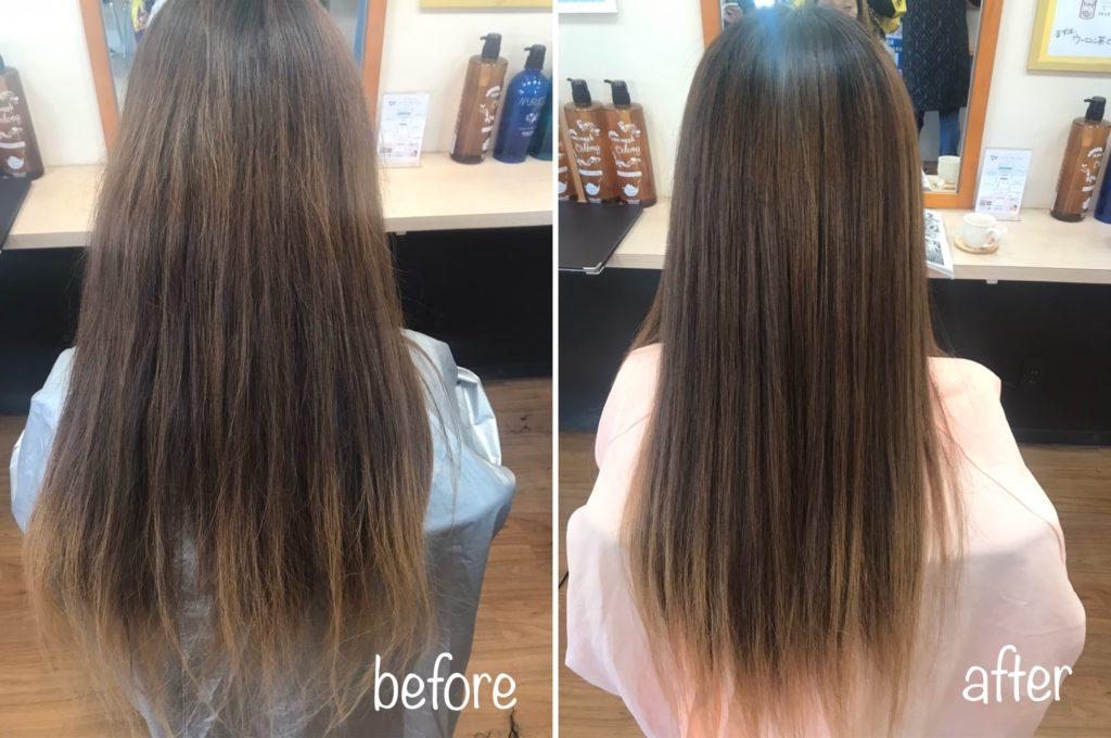 縮毛矯正には無い、髪質改善キラ髪✨の魅力とは?